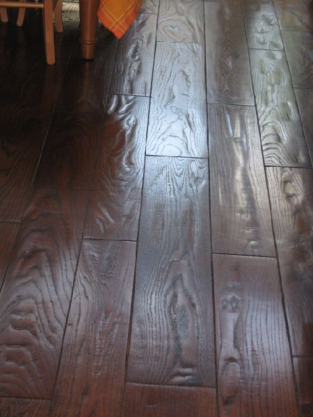 Houston hand scraped hard wood floors antique wire worn Wood flooring houston